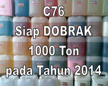 C76 Siap Dobrak Target 1000 Ton pada 2014